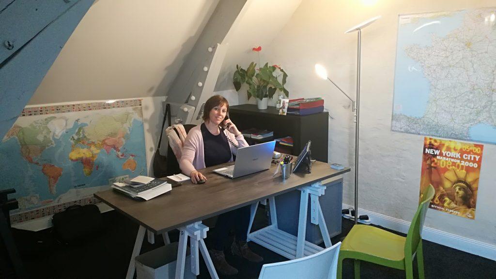gérante Odyssee Sport Emmanuelle Bocquier