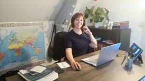 Emmanuelle Bocquier: gérante Odyssee Sport